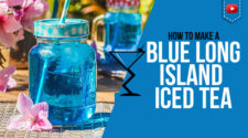 Blue Long Island Cocktail