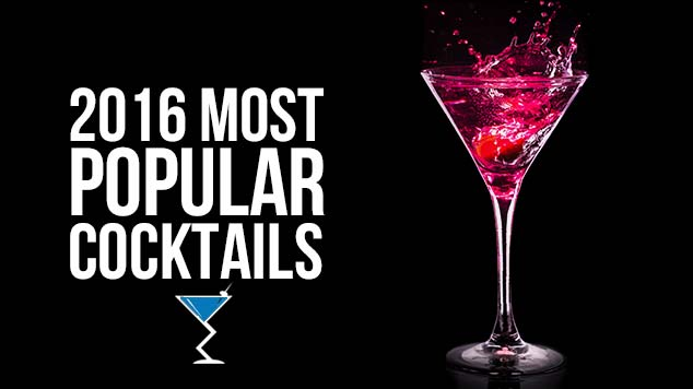 2016 Most Popular Cocktails