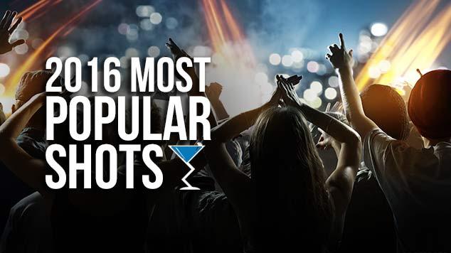 2016 Most Popular Shots
