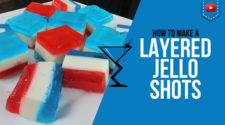 4th of July Vodka Jello Shots