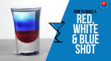 Red, White and Blue Shot Recipe