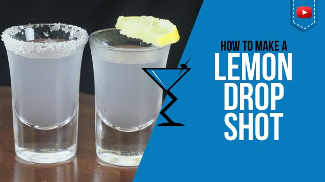 Lemon drop shot cocktails drink recipes drink lab for Easy shot recipes with vodka