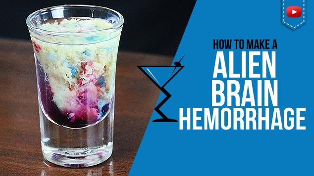 Alien Brain Hemorrhage Shot