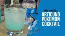 Articuno Pokemon Cocktail