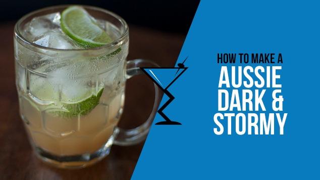 Dark & Stormy Cocktail Aussie-Dark-and-Stormy Aussie-Dark-and-Stormy ...