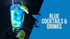 Blue Cocktails & Drinks