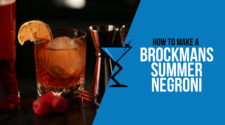 Brockmans Summer Negroni