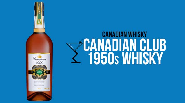 Canadian Club 1950s Whisky