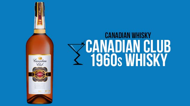 Canadian Club 1960s Whisky
