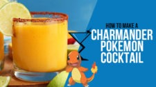 Charmander Pokemon Cocktail