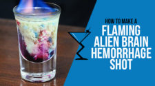 Flaming Alien Brain Hemorrhage Shot