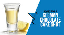 German Chocolate Cake Shot