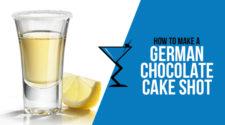 German Chocolate Cake Shot