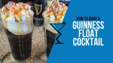 Guinness Float Cocktail