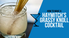 Haymitch's Grassy Knoll Cocktail