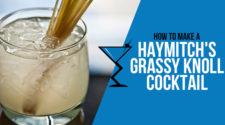 Haymitch's Grassy Knoll Cocktail