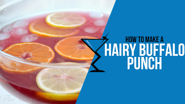 Hairy Buffalo Punch - Drink Lab Cocktail & Drink Recipes