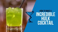 Incredible Hulk Cocktail