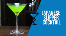 Japanese Slipper Cocktail