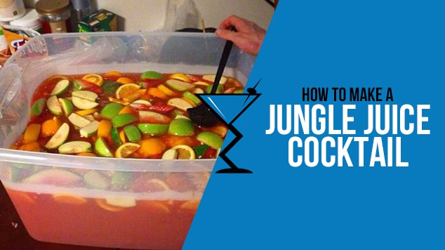 Jungle Juice Cocktail Drink