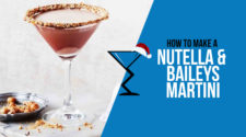 Nutella and Baileys martini