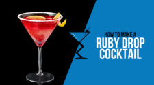 Ruby Drop Cocktail