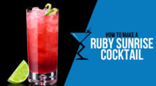 Ruby Sunrise Cocktail