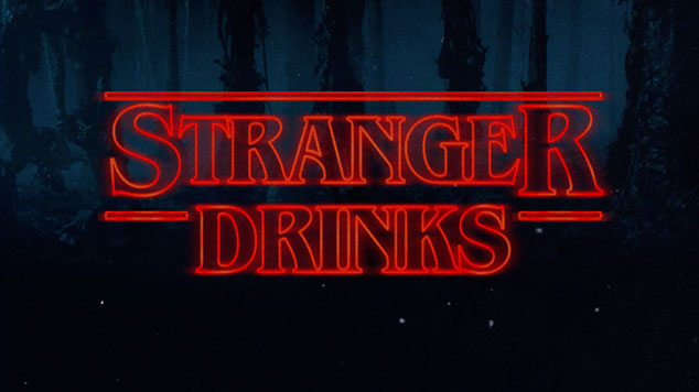 Stranger Things Themed Cocktails & Drinks
