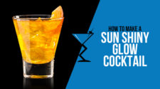 Sun Shiny Glow Cocktail