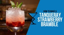 Tanqueray Strawberry Bramble