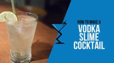 Vodka Slime Cocktail