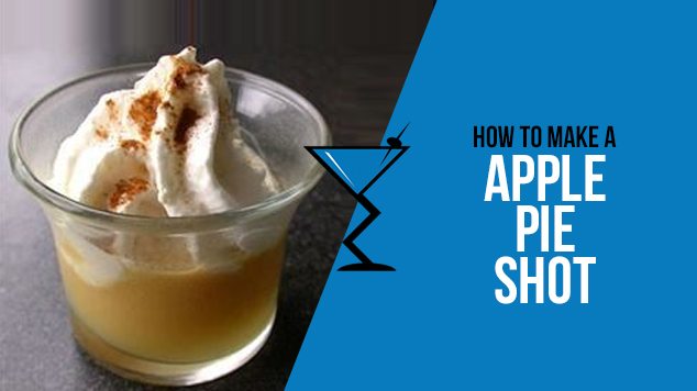 how to make apple pie shots with vodka