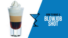 Blowjob shot drink