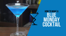 Blue Monday Cocktail