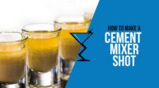 Cement Mixer Shot