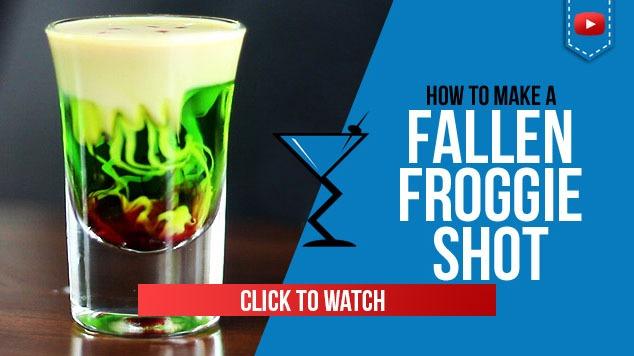 Fallen Froggie Shot Recipe
