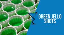 Green Vodka Jello Shots