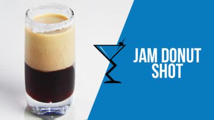 Jam Donut Shot