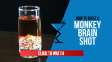 Monkey Brain Shot Recipe