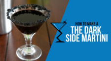 The Dark Side Martini  Blenheim the dark side martini