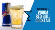 Vodka Redbull - Vodka and Redbull